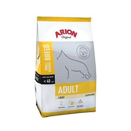 Arion Adult Small/Medium Light Comida para Perros - 12000 gr