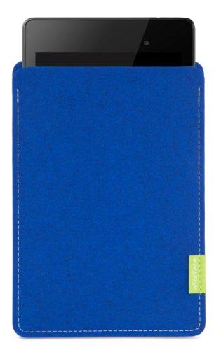 WildTech Sleeve für Google Nexus 7 (1. Generation) - 14 Farben wählbar (Azure)