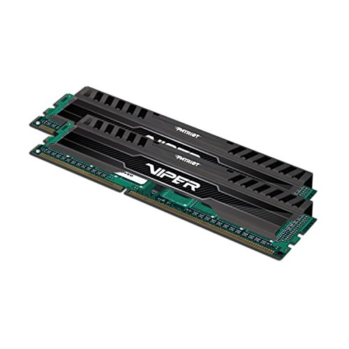 Patriot PV316G160C0K 16GB(2x8GB) Viper III DDR3 1600MHz (PC3 12800) CL10 Desktop Memory With Black Mamba Heatsink