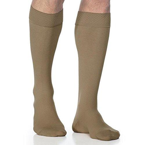 Sigvaris Midtown Grip-Top Knee Men 20-30mmHg(ML-tan)