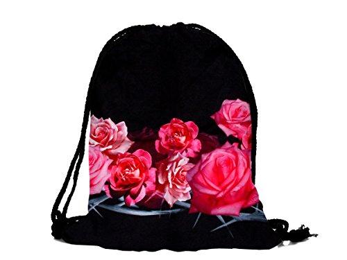 Alsino Turnbeutel Hipster - Bolsa de deporte, rosas