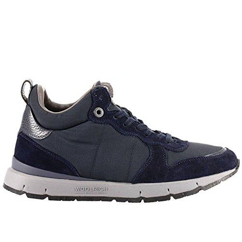 WOOLRICH W1003400 Sport Shoe Jogger - Zapatillas deportivas impermeables Dark Navy Blue para hombre Azul Size: 44 EU