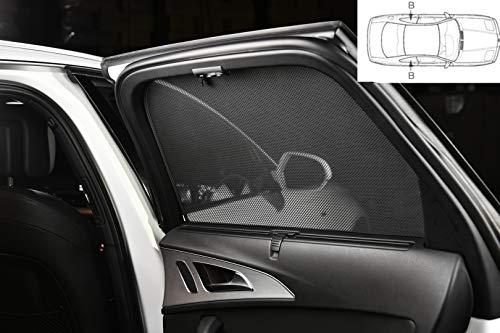 Parasol para Ford C-Max de 5 puertas año de fabricación A partir de 2010, embellecedores de 2 piezas para puertas traseras.