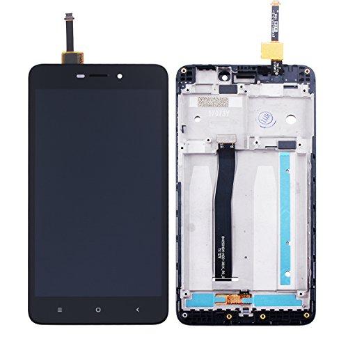 Ocolor Reparación y reemplazo para XiaoMi Redmi 4A +LCD Display + Digitizador de pantalla táctil + Marco+Un conjunto de herramientas (Negro)