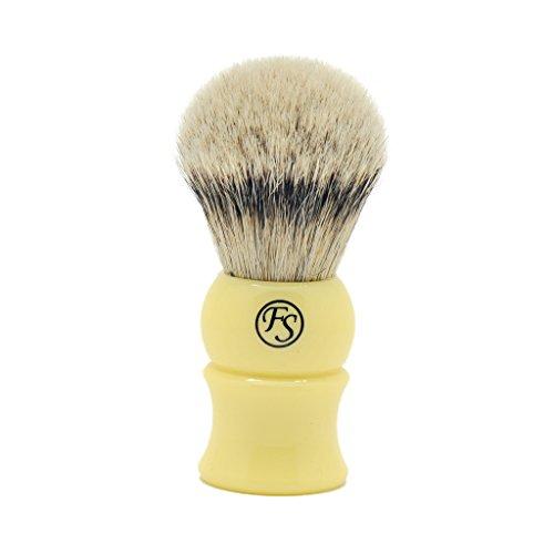 28mm Density Silvertip Badger Hair Shaving Brush Handmade by Frank Shaving