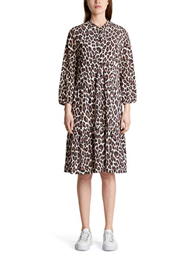 Marc Cain Additions MA 21.13 J29 Vestito, Multicolore (Redwood 673), 46 Donna