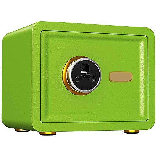 XiYou Caja Fuerte de Seguridad, con Huella Digital, pequeño gabinete de Seguridad portátil para el hogar/Viaje para mesita de Noche, Color Opcional
