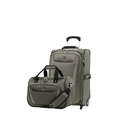 Travelpro Luggage Maxlite 5 | 2-Piece Set | Soft Tote and 22-Inch Rollaboard (Slate Green)