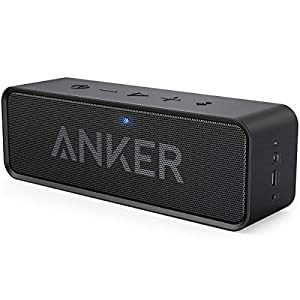 Anker SoundCore 24-Hour Playtime Bluetooth Speaker with 10W Limited Output, Stereo Sound, Rich Bass, 66-foot Bluetooth Range, Built-in Mic. Portable Wireless Speaker for iPhone, Samsung, and More from Anker