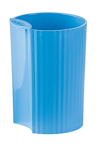 HAN designed to organise Stifteköcher HAN LOOP 17220-54 in Trend Colour Hellblau / Modernes Schreibtisch Zubehör für Stifte / Stylischer und kombinierbarer Stiftebehälter