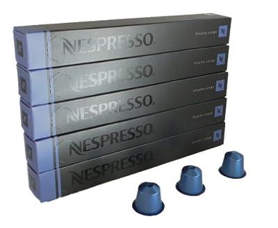 Nespresso 50Capsules–5x 10Capsules Vivalto Lungo