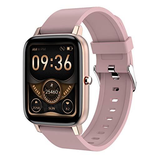 L.B.S H80 Smart Watch Men's 1.69 Pulgadas Fitness Tracker Pulsera Deportiva Reloj De Frecuencia Cardíaca Impermeable para iOS Android Smart Watch,A