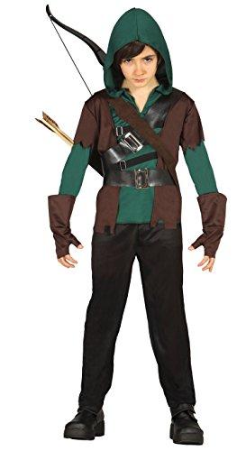 Guirca- Disfraz arquero, Talla 7-9 años (85705.0)