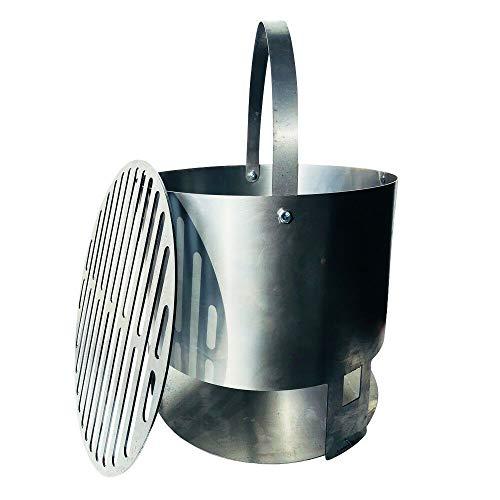 "14"" XL charcoal basket - 55 gallon Drum Smoker UDS Barrel Cooker BBQ smoker pit | SellerDirect220"