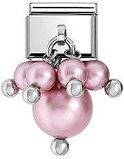 Nomination 030609/04 - Estensione da Donna con Elementi in Acciaio Inox Swarovski, Colore: Rosa