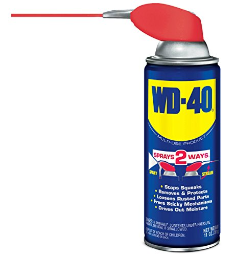 WD-40 490043 Multi-Use Lubricant Smart Straw Spray 11 OZ (Pack of 1)