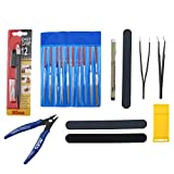 ENET 9pcs Modeler Basic Tool Craft Set for Gundam Car Model Building Repair Kits