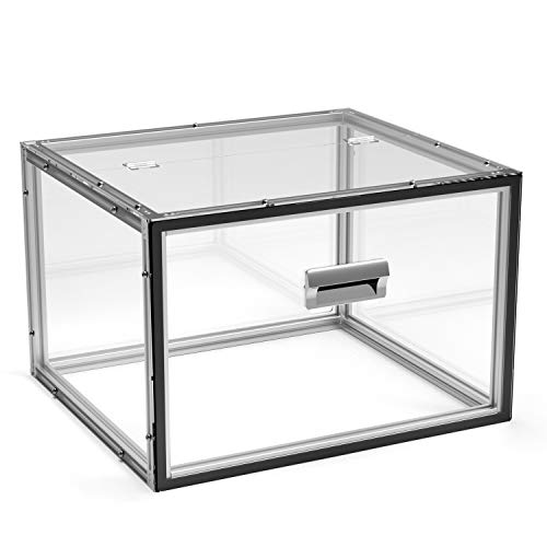 Genmitsu KABA Acrylic CNC Enclosure - Enhanced Protection, Dustproof, Noise Reduction, Compatible with 3018-PRO/3018/3018-MX3/3018-PROVer/1810-PRO, 460 x 400 x 310 mm