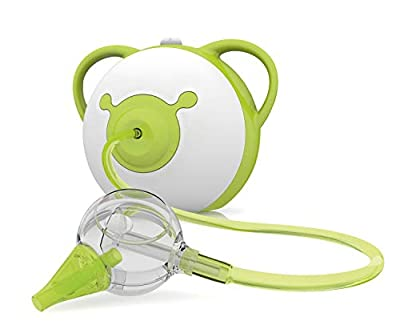 Nosiboo Pro Nasal Aspirator (110 V) - A Baby Snot Sucker with Adjustable Suction Power