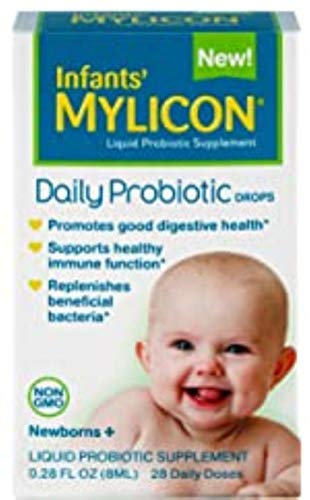Mylicon Probiotic Daily Drops for Infants and Babies, 0.28 Fluid Ounce