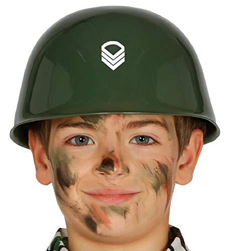 shoperama Kinder-Helm Soldat Militär Armee Army Soldier Kostüm-Zubehör Kopfbedeckung