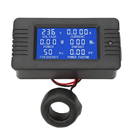 Medidor de potencia, PEACEFAIR PZEM-022 Medidor digital de CA Energía eléctrica Prueba...