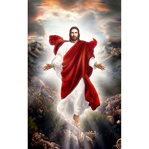 Pintura especial en forma de diamante, kit de pintura de diamante El nacimiento de Jesús completo redondo taladro cuadro artesanía