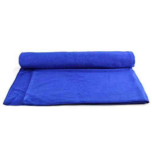 DYW Chiffons Serviette de Nettoyage en Microfibre pour Voiture, éponge, Absorbant, sans Rayures, Bleue