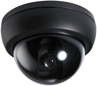 Security Camera Indoor Wired Analog Dome Camera 600TVL 3.6mm Fixed Lens - Commercial Grade Professional Surveillance for Industrial, Business and Home CCTV System - CNB D192-0S B Black