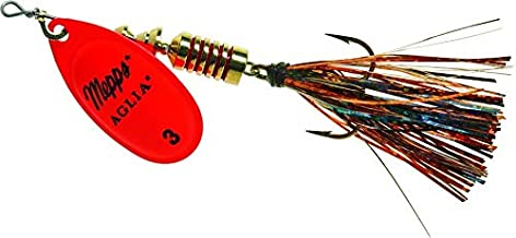 product image for Mepps Fishing Lure B3FT HO-BO Aglia Flashabou in-Line Spinner 1/4 oz Hot