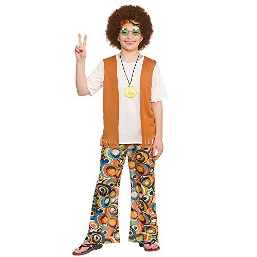 Cool Hippie Kostüm für Jungen (11-13 Jahre)
