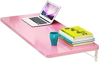 BALLYE Table à abattant Murale, Table de Salle à Manger de Cuisine Simple et Pliante, Bureau d'ordinateur, Petit Espace, T...
