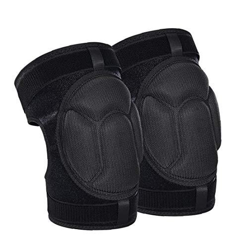 Knee Pads Gardening Knee Pads Collision Avoidance Knee Sleeve Black Knee Protector (L) Garden Tools