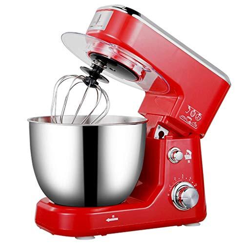 ZTMN garde, blender, keuken-multifunctionele eggbeater van roestvrij staal, 600 W 220 V desktop-huishoud-crèmemengkraan (kleur: rood 2, maat: 33 * 21,5 * 28 cm)