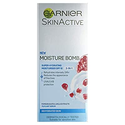 Garnier Moisture Bomb 3in1 Day Cream Moisturiser 50ml