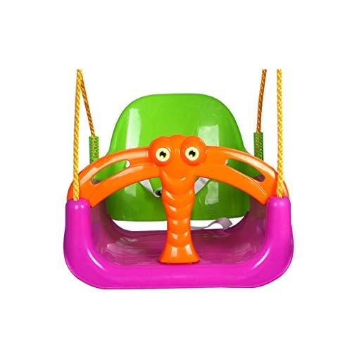 Schommeln libel vorm schommel voor kinderen kinderzitje multifunctioneel indoor en outdoor hangstoel schommelstoel veilig en duurzaam afneembare boom schommelstoel oranje