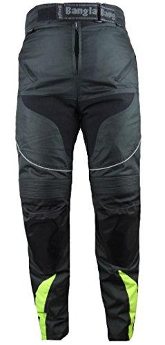 Bangla Kinder Motorradhose Tourenhose Textil 2152 Schwarz Neongelb 128