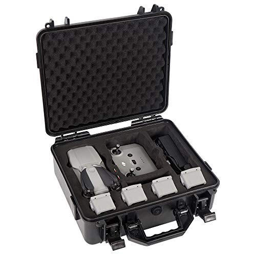 Smatree Professional Waterproof Hard Case Compatible with DJI Mavic Air 2 and DJI Remote Controller (Drone and Accessories are NOT Included)