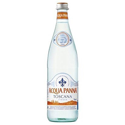 Acqua Panna Natural Mineral Still Water 75cl Glas (Packung mit 12 x 750 ml)