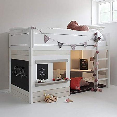 But Lit Combine 90x200cm Bureau Game Amazon Fr Cuisine Maison
