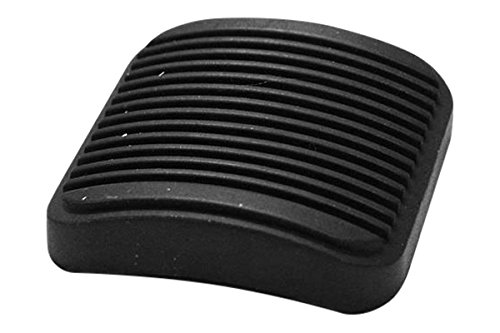 APDTY 31891 Brake or Clutch Pedal Rubber Pad Fits 1987-2017 Jeep Wrangler & More