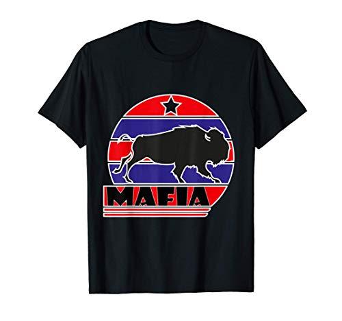 Bills Mafia Buffalo New York BFLO Vintage Football Fan T-Shirt