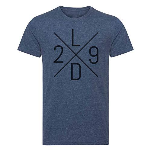 Scallywag® Eishockey T-Shirt Leon Draisaitl LD29 Cross I Größen S - 3XL I A BRAYCE® Collaboration (offizielle LD29 Kollektion vom NHL Edmonton Oilers Star) (XL)