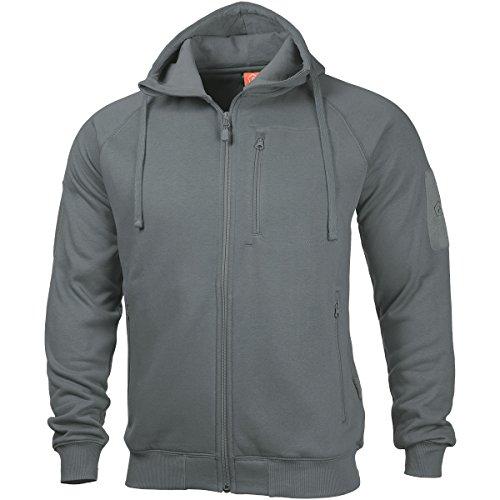 Pentagon Herren Leonidas 2.0 Sweater Wolf Grey Größe L