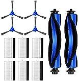 LYDPT Accesorios de aspiradora Kit de Accesorios de Filtro de Pinceles de Piezas de Repuesto para ROBOVAC 11S, ROBOVAC 30, ROBOVAC 15C, ROBOVAC 12, ROBOVAC 35C