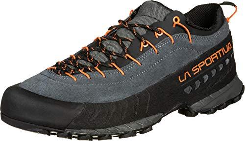 LA SPORTIVA TX4, Zapatillas de montaña Hombre, Carbon/Flame, 42 EU