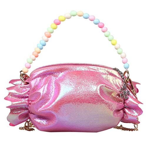 VALICLUD Little Girls Crossbody Handbag Lovely Shoulder Satchel Candy Bag for Kids