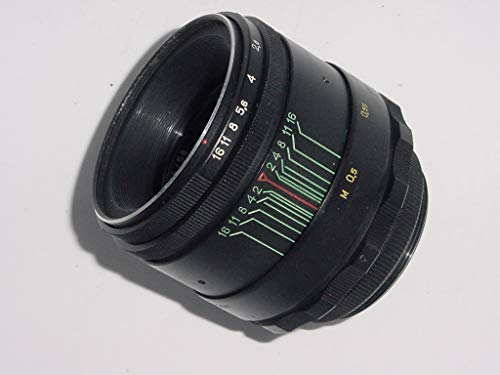 Helios 44-2 58mm F2 Soviet Lens for Micro 4/3 Panasonic, Olympus