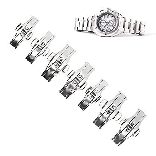 Hebilla, cierre de correa de reloj durante mucho tiempo Aleación de alta calidad para el hogar para amantes de los relojes amantes del reloj para profesionales del reloj