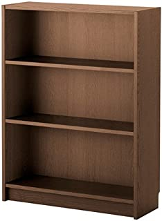 Ikea Bookcase, brown ash veneer 1628.81111.226